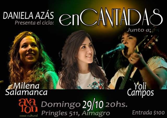 """Daniela Azás presenta el ciclo """"enCANTADAS"""""""