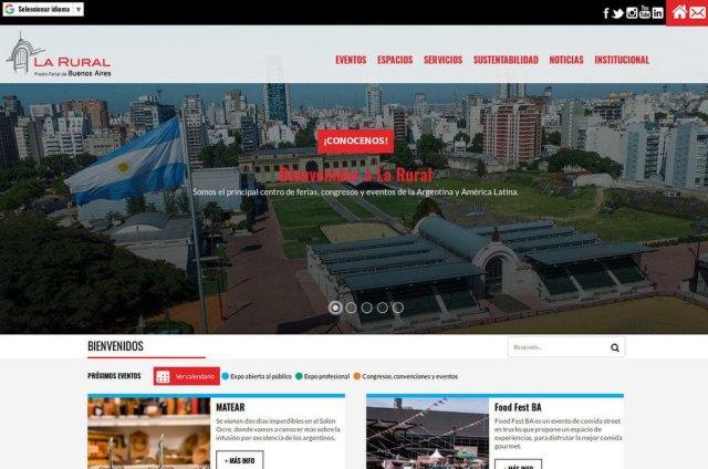 A LA VANGUARDIA: La Rural estrena nueva plataforma web