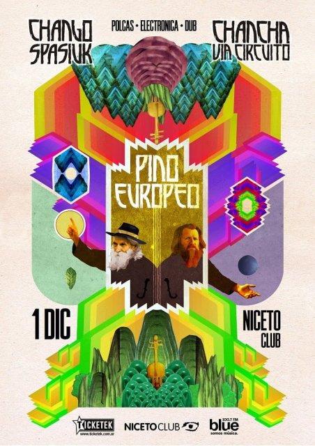 Chango Spasiuk y Chancha via Circuito este viernes en Niceto Club