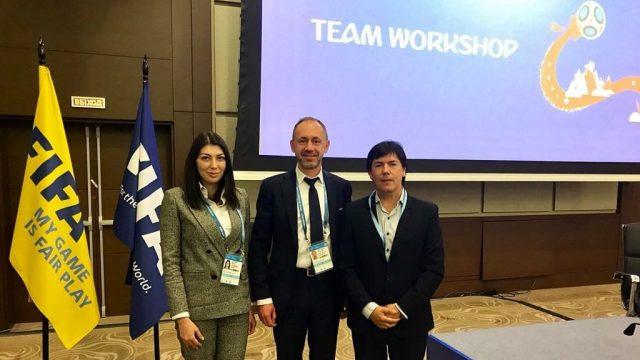 La APreViDe mantuvo en Rusia reuniones vinculadas a la organización y la seguridad del mundial de fútbol