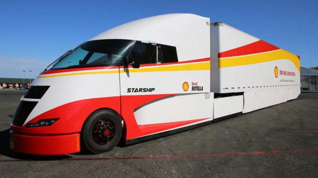 Shell y AirFlow Truck Company presentan el camión hipereficiente Starship