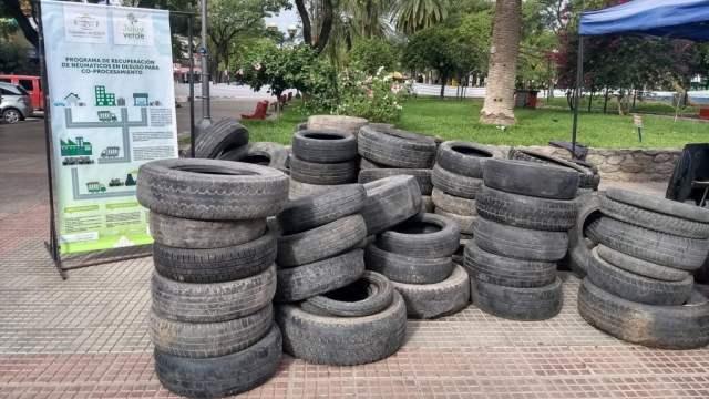 """Más de 700 neumáticos fuera de uso fueron recuperados en un nuevo """"Neumatón"""""""