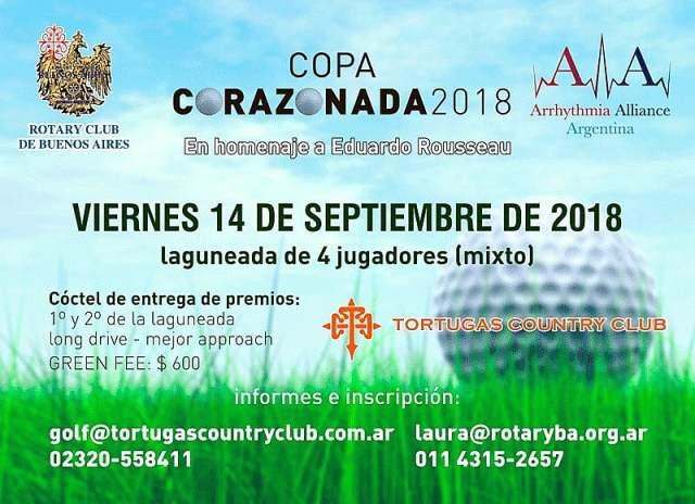 El Rotary Club de Buenos Aires organiza la #CopaCorazonada2018