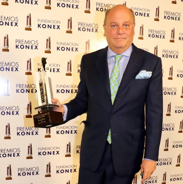 Martín Cabrales es uno de los premios Konex 2018 a personalidades más destacadas de la última década de Instituciones, Comunidad y Empresa