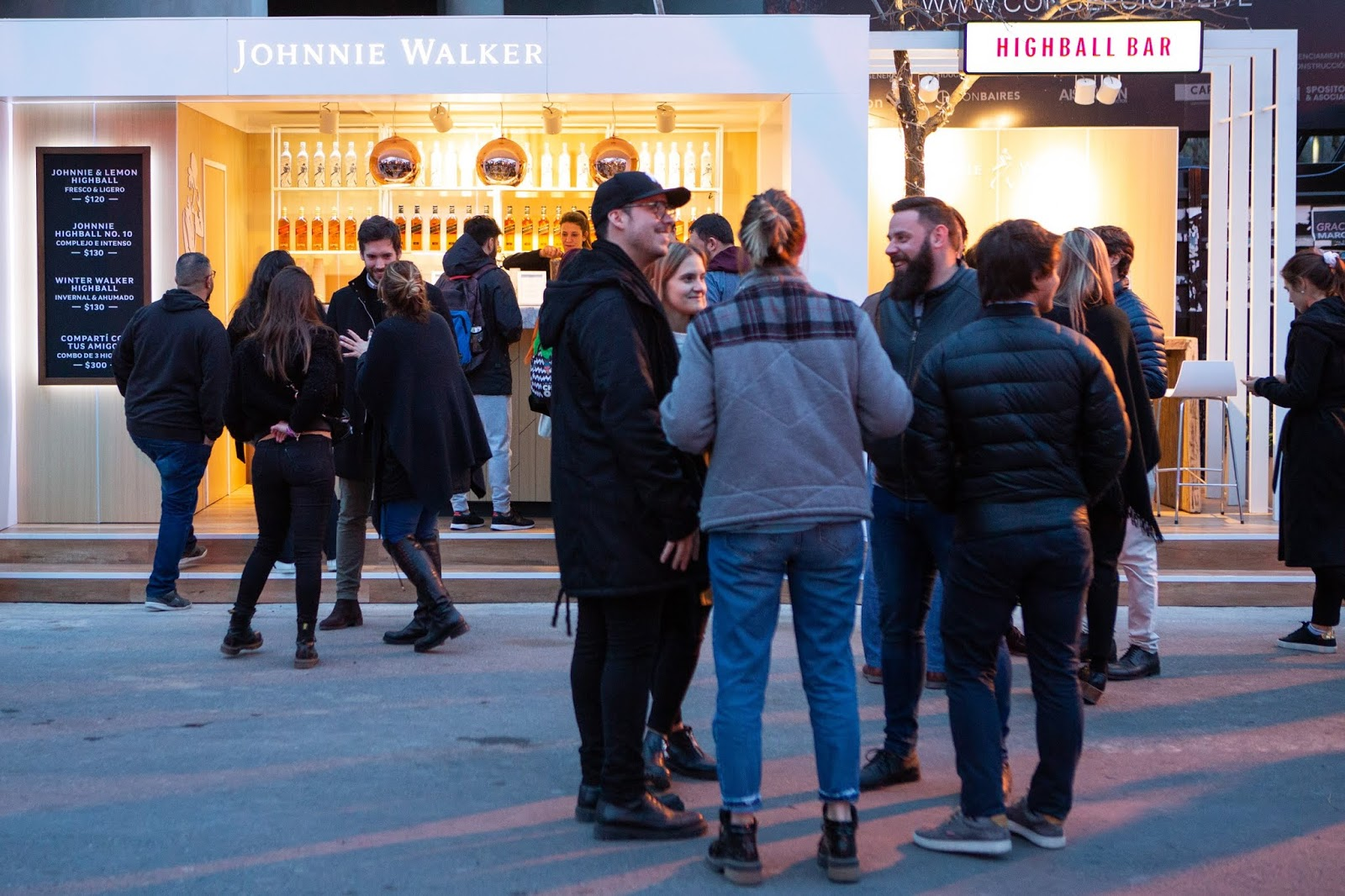 Johnnie Walker presenta su Highball Bar en Masticar #JohnnieHighball
