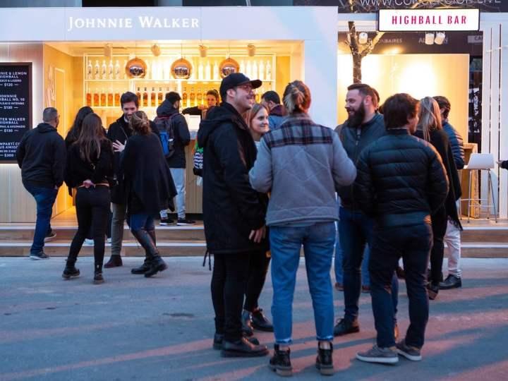 El Highball Bar de Johnnie Walker en Masticar