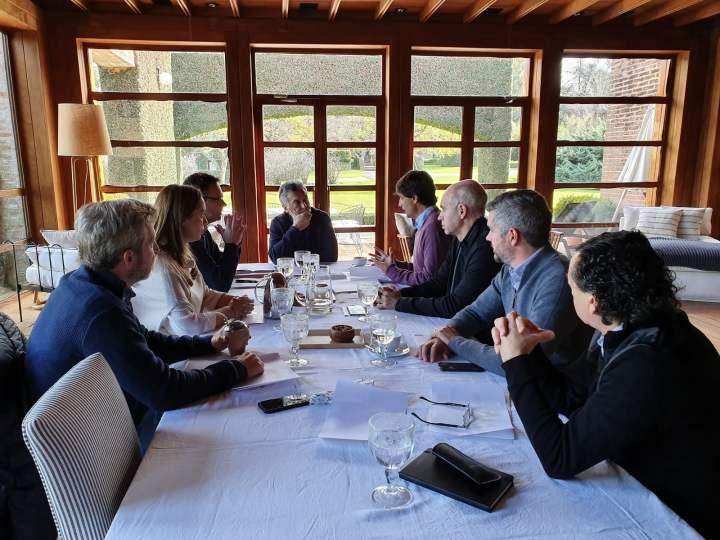 El presidente Macri recibió al designado Ministro de Hacienda de la Nación, Hernán Lacunza