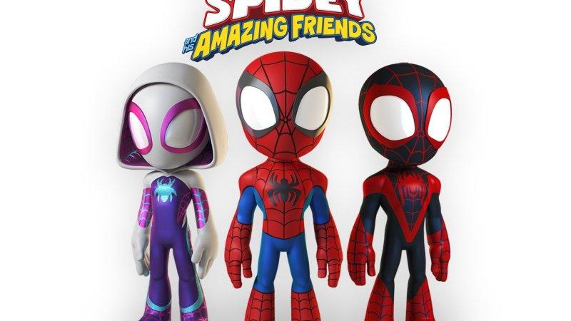 Marvel Animation anuncia la producción de Marvel's Spidey and His Amazing Friends