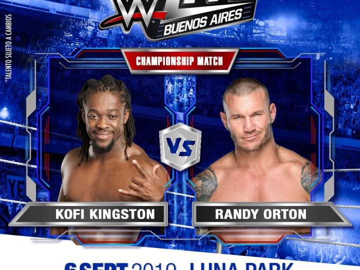 WWE – conocé los enfrentamientos que verás en el Luna Park el 6 de septiembre