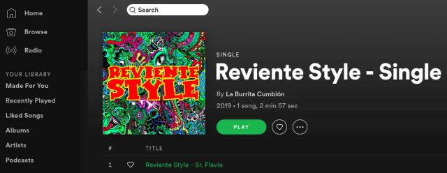 La Burrita Cumbión