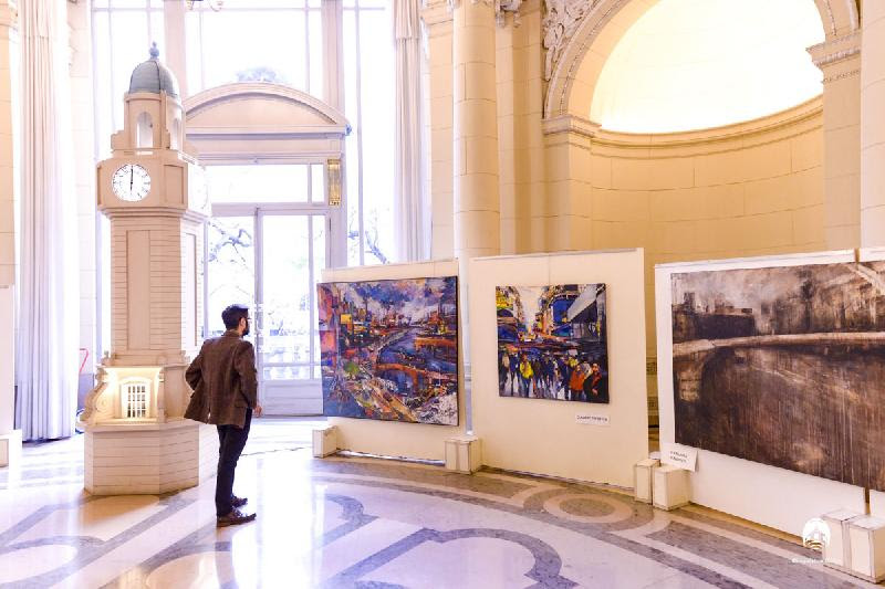Muestra de Buenos Aires en el Hall de Honor de la Legislatura de la Ciudad