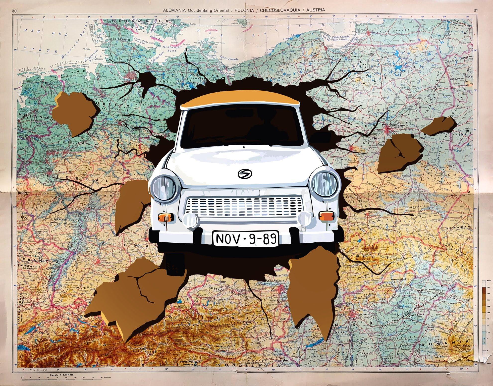 """Programa de actividades culturales """"Al otro lado. 30 años de la caída del Muro de Berlín"""""""