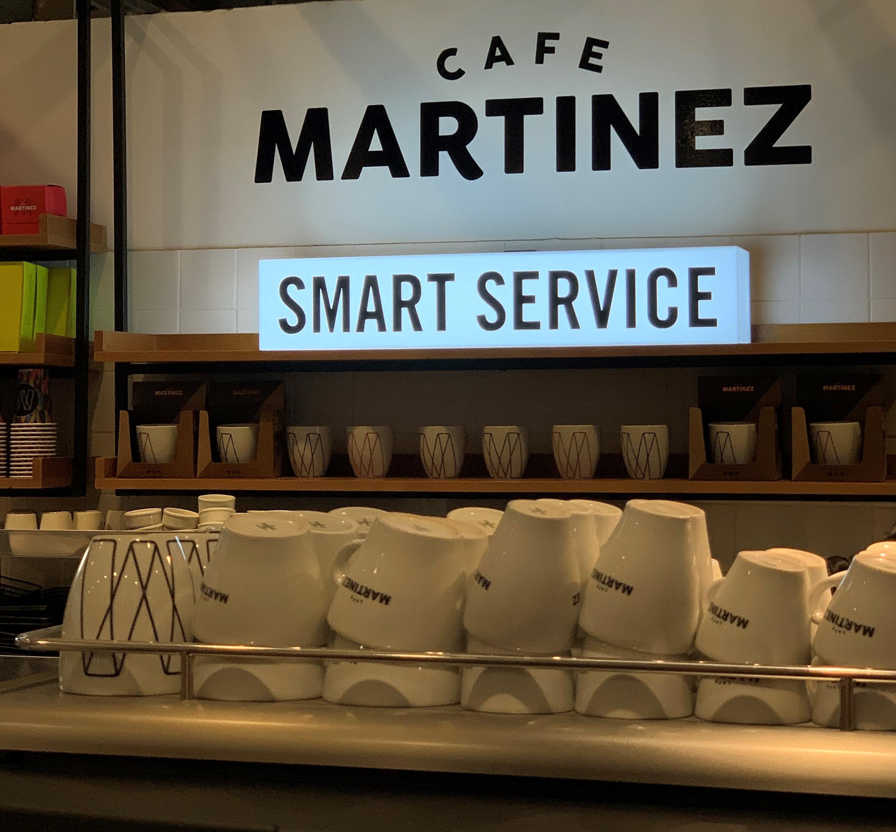 """Café Martínez lanza por primera vez en Argentina su propuesta: """"Smart Service"""""""