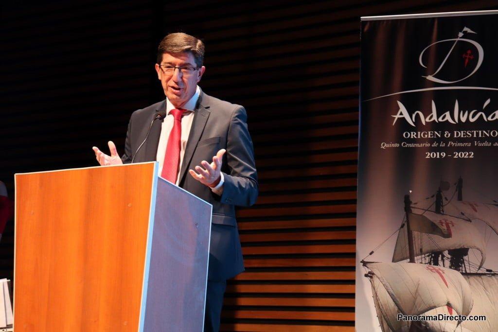 Juan Marín llega a la Argentina para presentar 'Andalucía, Origen y Destino' a autoridades y profesionales turísticos