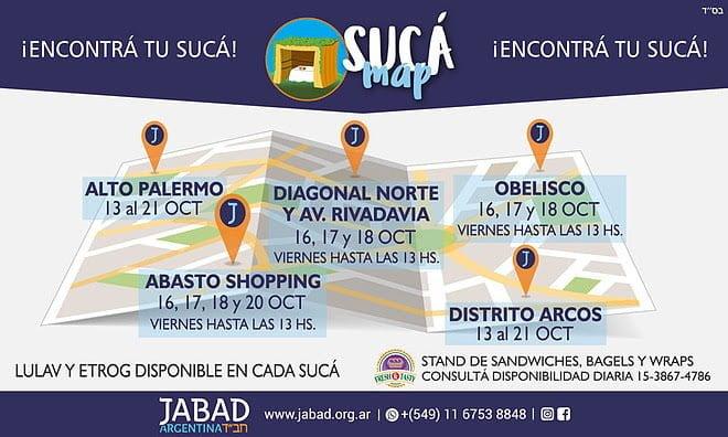 Del 16 al 21 de Octubre Viví SUCOT en Buenos Aires
