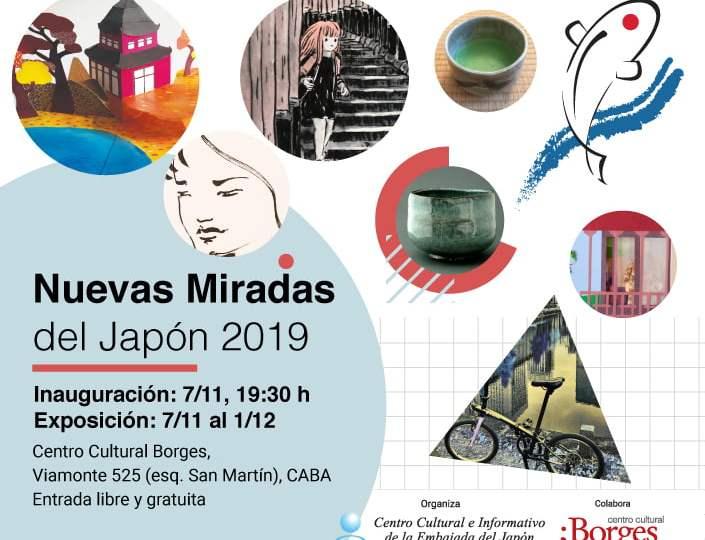 Exposición: Nuevas Miradas del Japón en el Centro Cultural Borges