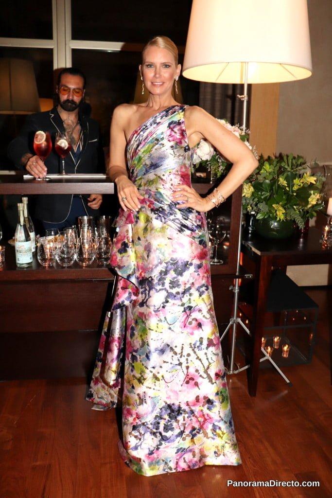 Valeria Mazza en la gala del Hospital Austral