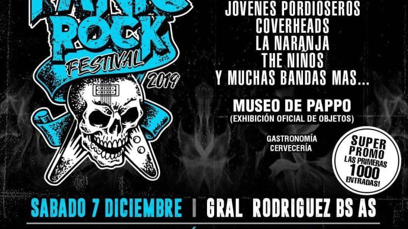 PANIC ROCK FESTIVAL 2019 en General Rodríguez