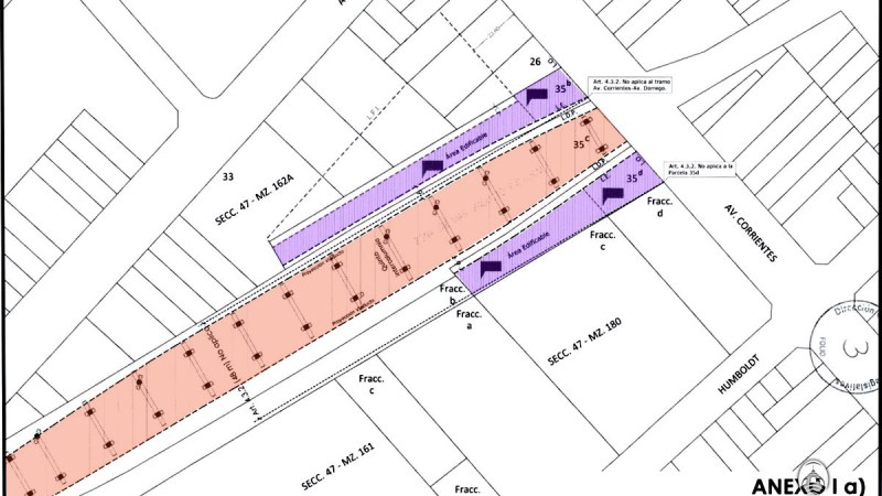 Explican nueva zonificación para la estación ferroviaria Villa Crespo