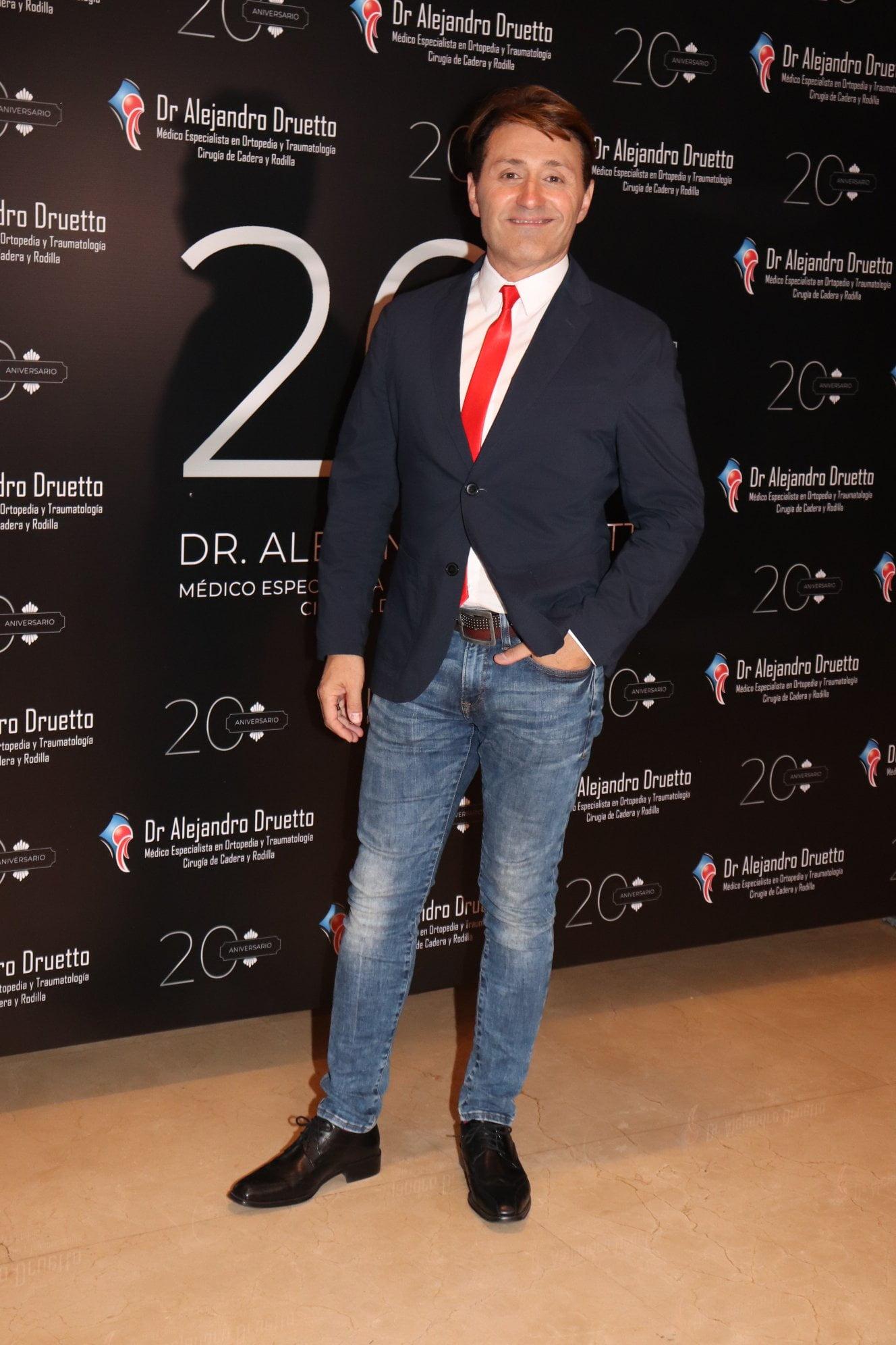 Daniel Gómez Rinaldi en el Hotel Emperador