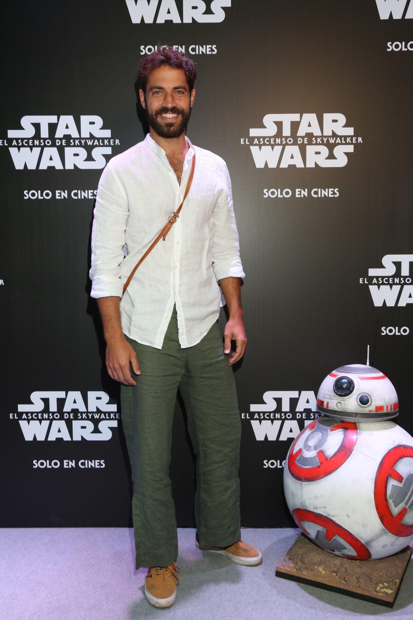 Benjamin Alfonso en la avant premiere de Star Wars
