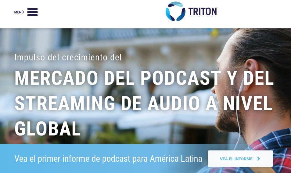 Triton Digital publica los rankings de Webcast Metrics de las principales redes y emisoras de audio digital para octubre de 2019