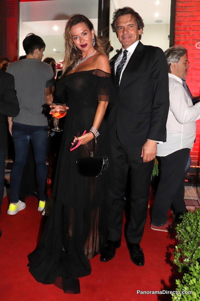 Karina Jelinek y Claudio Rígoli en Puerto Madero
