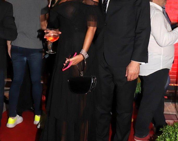 Karina Jelinek y Claudio Rígoli