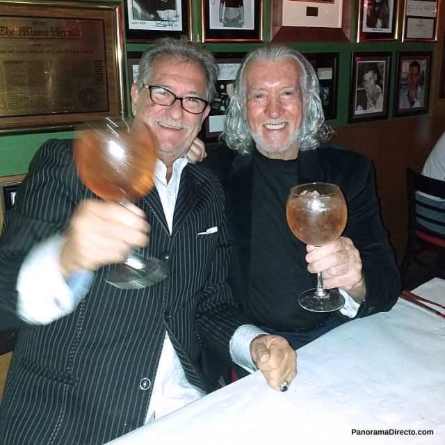 Raúl Ferraretto y Danny Daniel