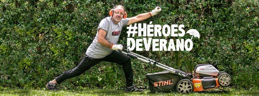 Stihl presenta #HéroesDeVerano, su última campaña para redes desarrollada por la agencia Gennial