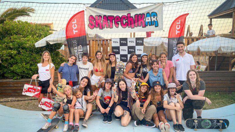 """El skate se impone entre las mujeres argentinas y TCL """"desbloquea sus límites"""" para fomentar este deporte"""