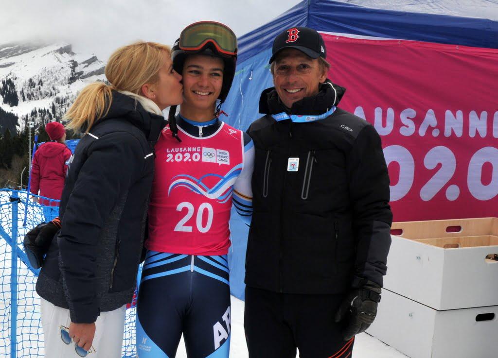 Dipoloma Olímpico para Tiziano Gravier en los Juegos de la Juventud de Lausanne