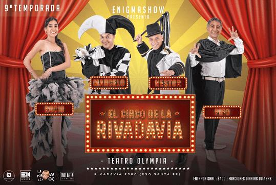"""""""ENIGMA SHOW"""" se presenta en Mar del Plata en en Teatro Olympia"""