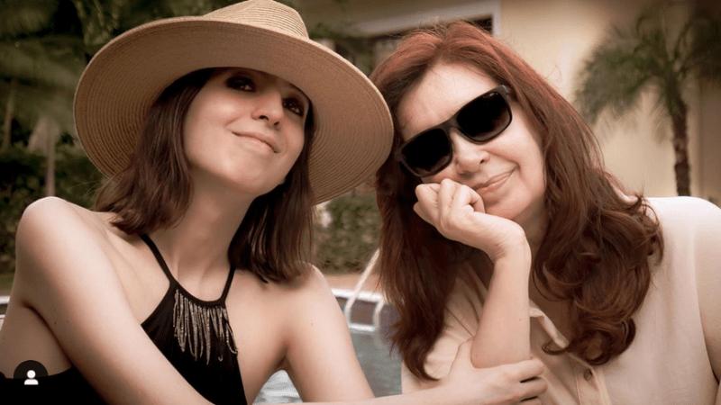 Cristina Fernández publicó una foto con su hija Florencia en Cuba