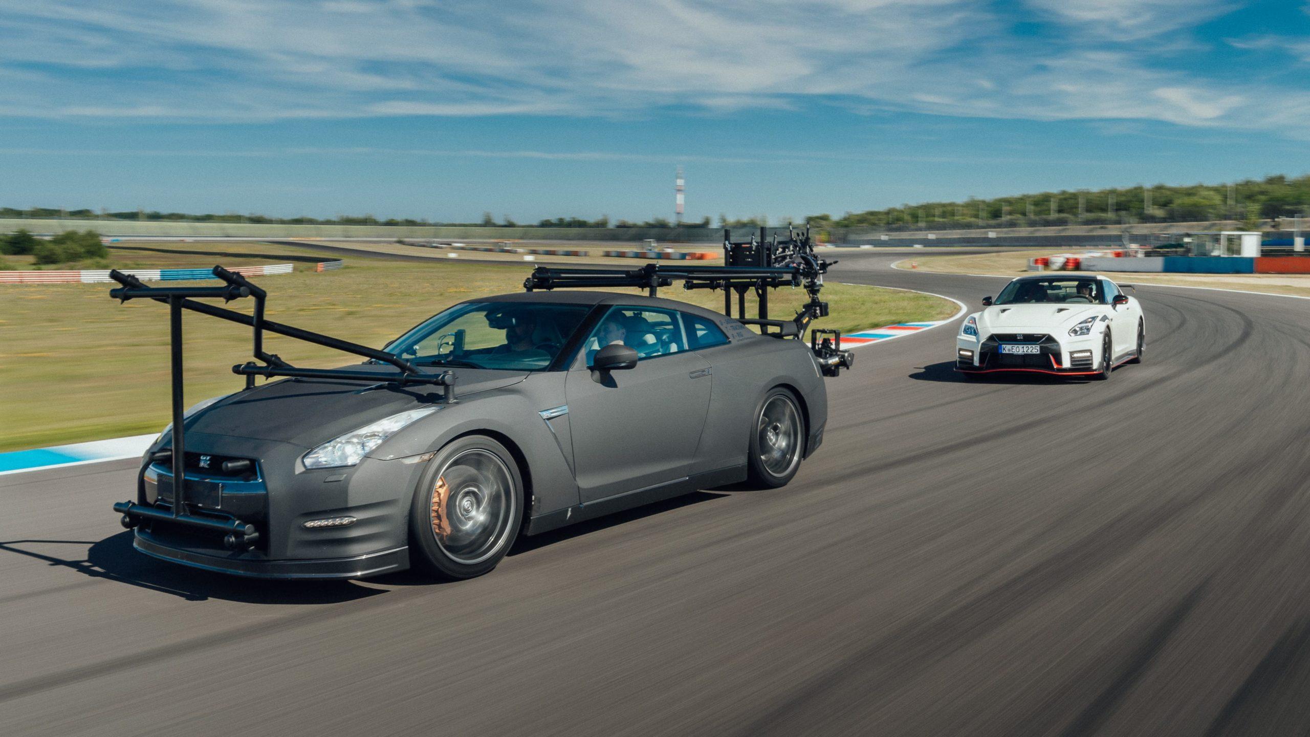 ¿Cuál es el único automóvil capaz de filmar al GT-R NISMO 2020? Otro GT-R