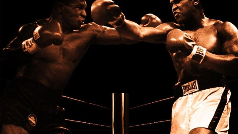 Alí-Tyson será la final en videojuegos entre leyendas del peso pesado