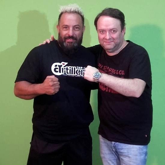 "Santiago Bermúdez y Alejandro ""Búfalo"" Ortiz"