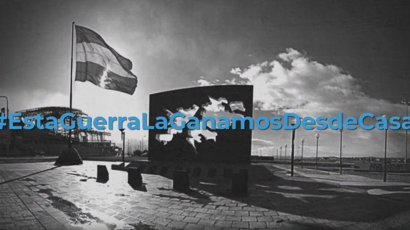 #EstaGuerraLaGanamosDesdeCasa La campaña viral que realizó The Wizard Agency