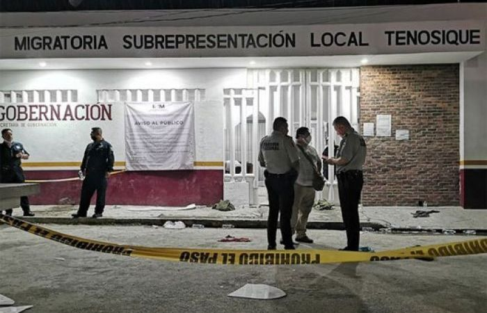 Un muerto y cuatro heridos en un motín en estación migratoria del sur de México