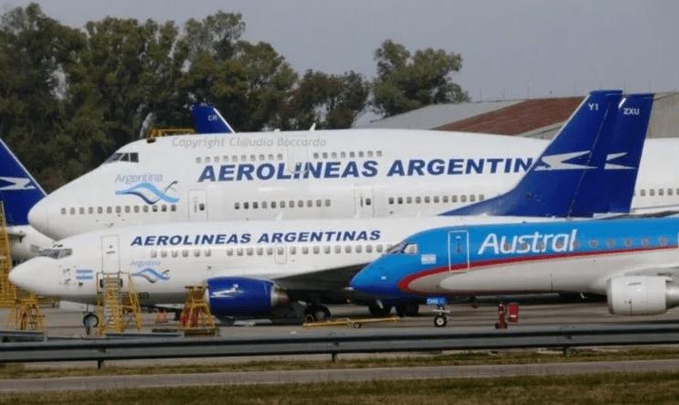Aerolíneas Argentinas pagará en cuotas del sueldo de junio ante el impacto de la pandemia