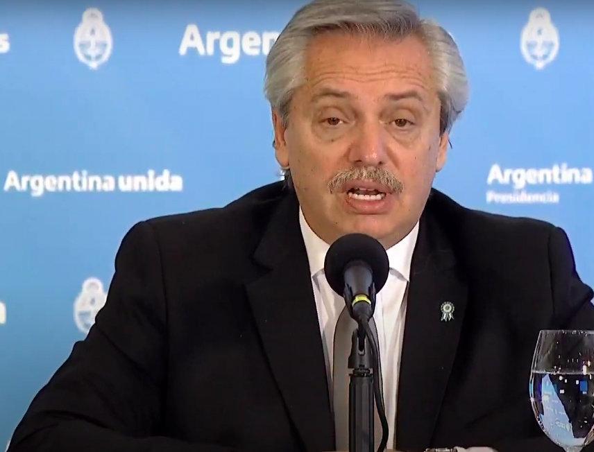 Alberto Fernández: «Dejen de sembrar angustia; angustiante es que el Estado no te cuide»