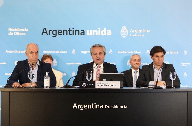 Coronavirus: Alberto Fernández prorrogó el aislamiento social, preventivo y obligatorio hasta el 24 de mayo