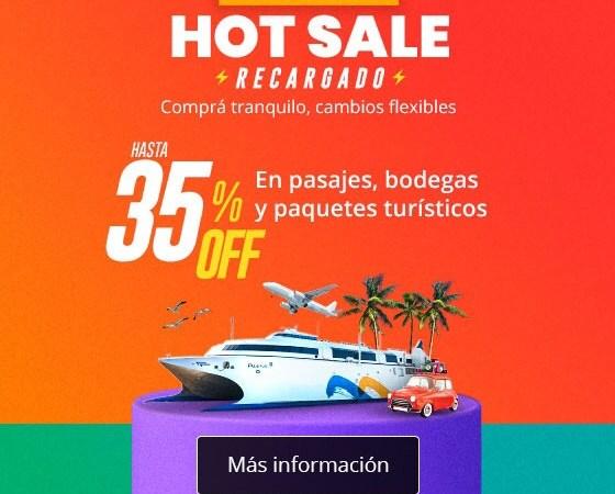 Buquebus tiene las mejores promociones en este HotSale
