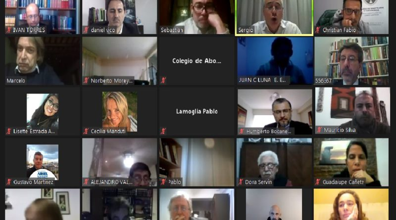 Se llevo adelante un seminario sobre sistema procesal argentino