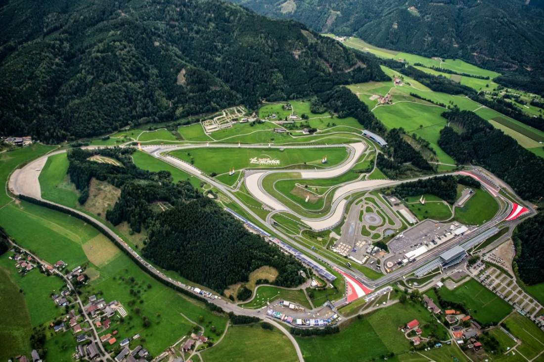 El autódromo del Red Bull Ring será sede del estreno de la Fórmula 1