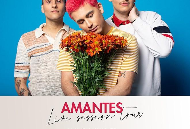 «Amantes» presenta un Live Session Tour durante Septiembre