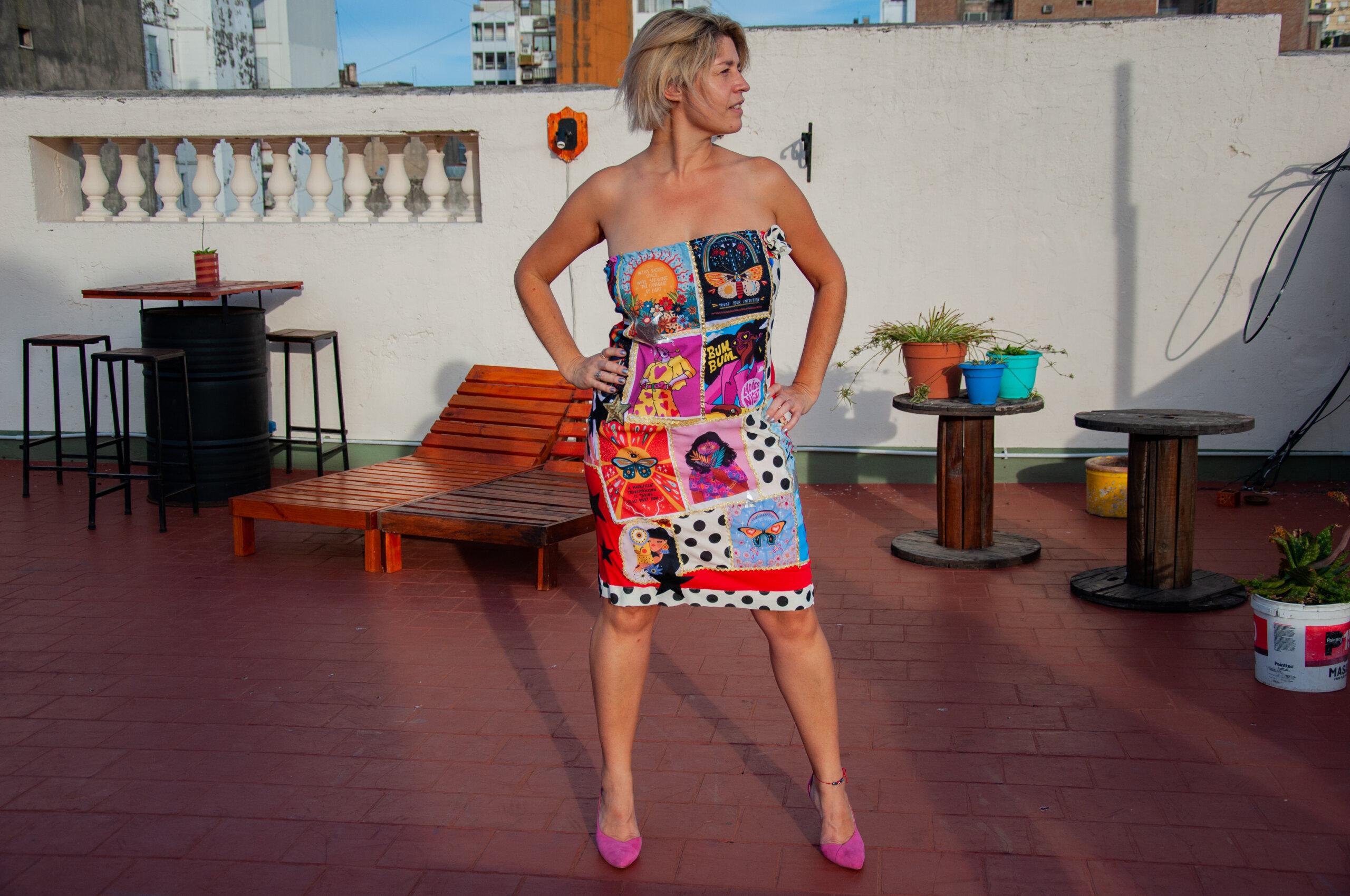 Noelia González, diseñadora de modas santafecina que apuesta por la inclusión