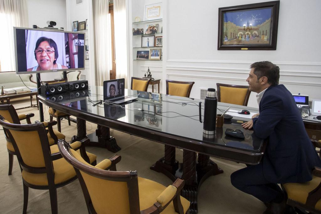 Kicillof habló con Milagro Sala y pidió «no más presos políticos en Argentina»
