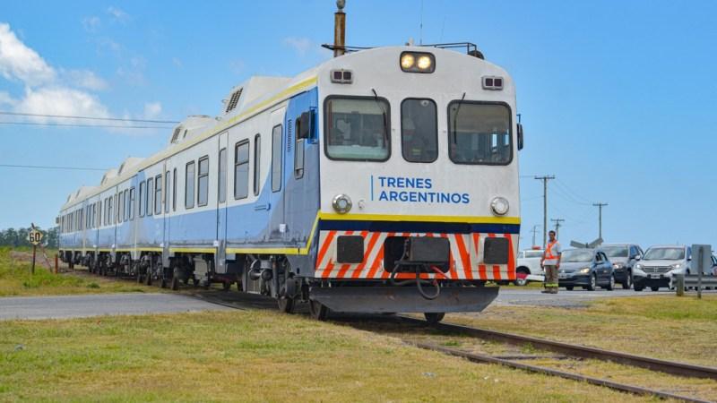 servicio de trenes desde Constitución a Pinamar