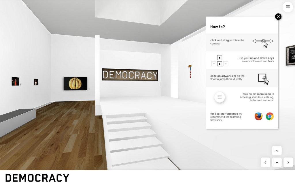«Democracia», la exposición de la primera asociación de galerías de América Latina